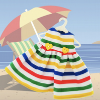 Special Offer - Deck Chair Stripes Dress