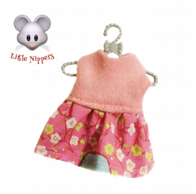 Little Nippers' Pink Flowered Dress