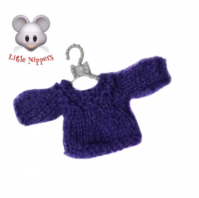 Purple Mouse Jumper