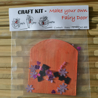 Craft Kit - Make your own Fairy Door - Birthdays