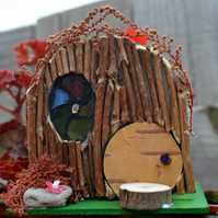 Craft Kit - Small Fairy House (Stained Glass window)