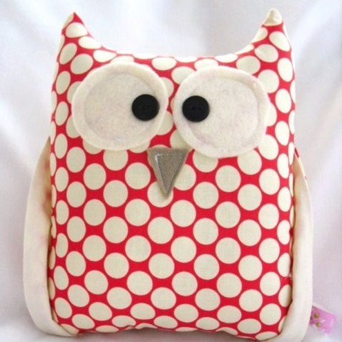 Owl Plush Lucy the Owl