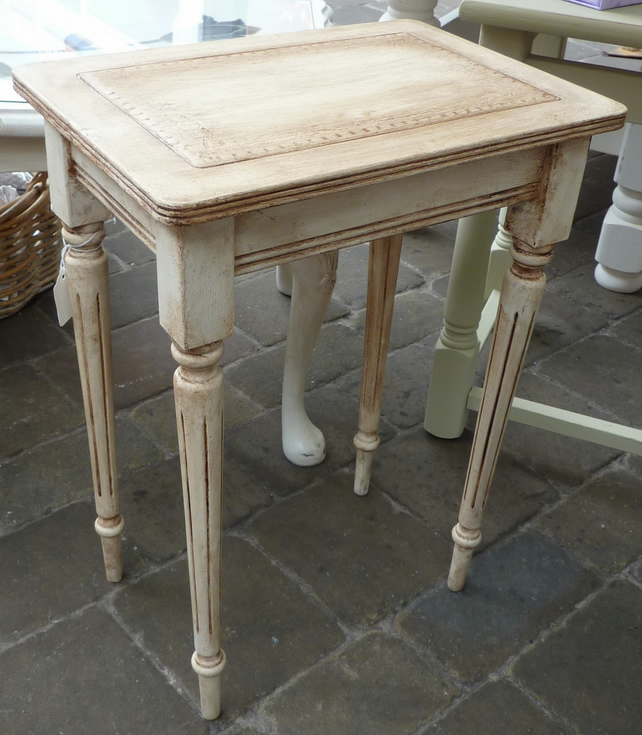 Shabby Chic Small Side Table