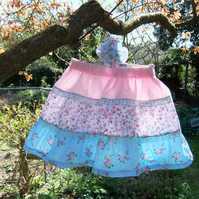Little girls tiered gypsy boho skirt  Age 2-3