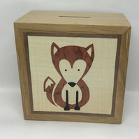 A Cute Red Fox Money Box (Piggy Bank)