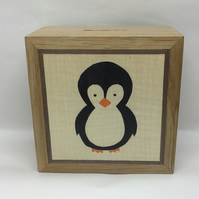 A Cute Penguin Money Box (Piggy Bank)