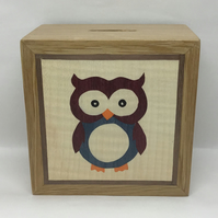 A Beautifully Owl Money Box (Piggy Bank)