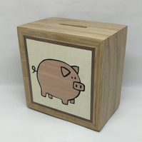 A Delightful Pink Piggy (Pig) Money Box (Piggy Bank)