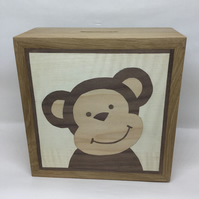 A Cheeky Monkey Money Box (Piggy Bank)
