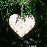 In Memory, Christmas Memorial, Tree decoration, A Christmas decoration