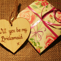 Be my Bridesmaid Invitation  Alternative Invite