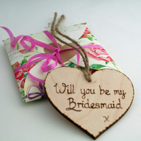 Will You be my Bridesmaid Invitation