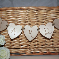 Heart Wedding Card Garland