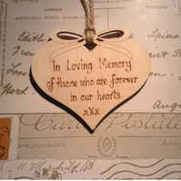Memorial Christmas Ornament, Tree Decoration, In Memory,, Christmas tree