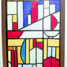 Stained Glass Panel, Kingswear Harbour