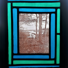 Contemporary Stained Glass - Winter Solstice at Budleigh