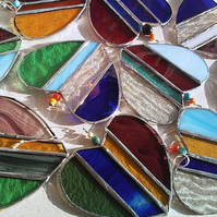 Large stained glass heart