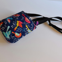 Bright Birds mini cross body bag