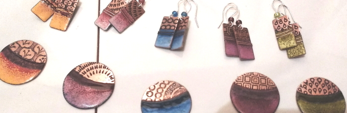 Gwin Kerry - Copper and Enamel Jewellery