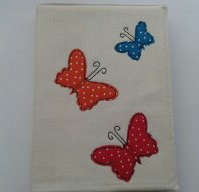 Butterflies A5 diary,notebook cover