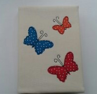 A5 diary,notebook cover with butterflies