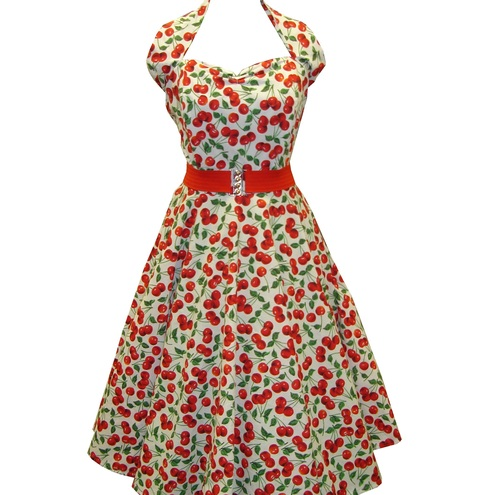 Very Cherry Full Circle Dress