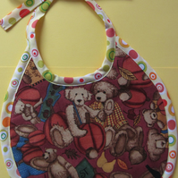 SALE Harvest Bear Babies Bib