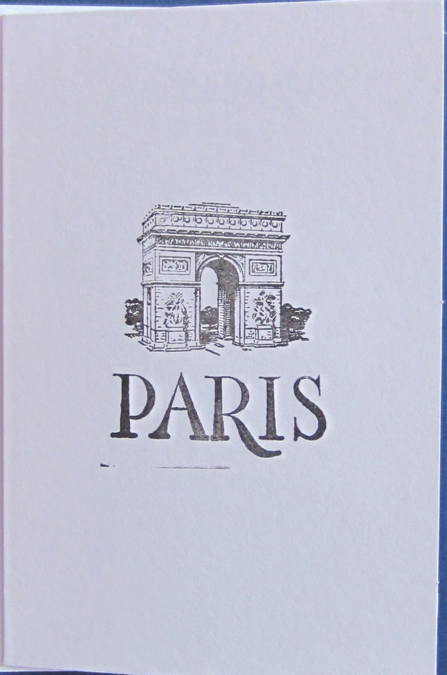 SALE Paris Card