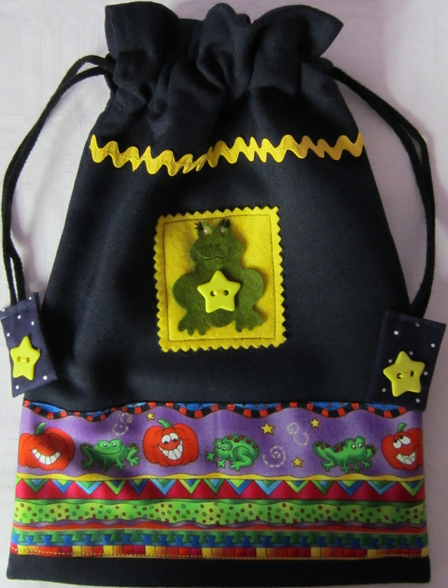 SALE  Halloween Trick or Treat Bag