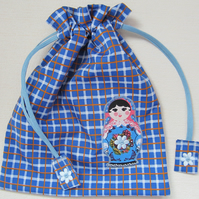 Russian Doll Toiletries Wash Bag