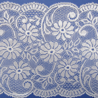 SALE 1.5 metres of wide Daisy Lace