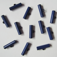 12 Royal Blue Toggle Buttons