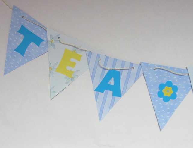 SALE Tea Party Bunting