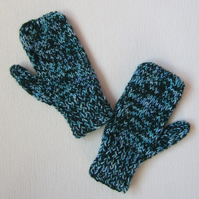 Hand Knitted Child's Mittens