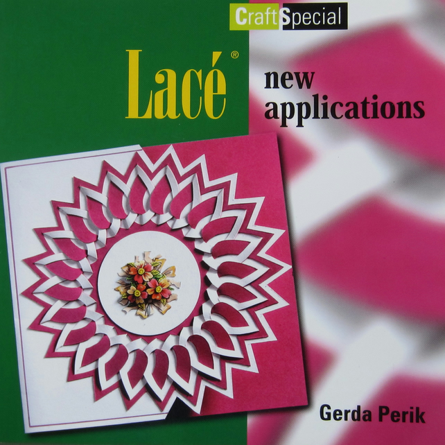 Lace Card Making Craft Book