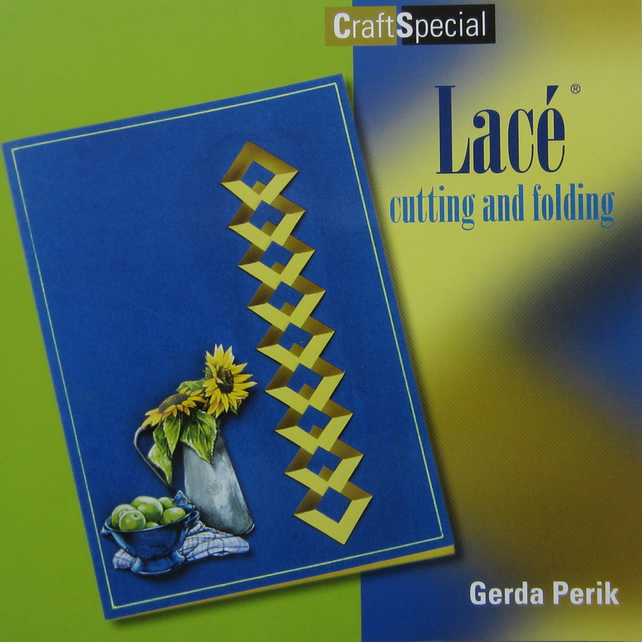 Lace Cutting and Folding Craft Book