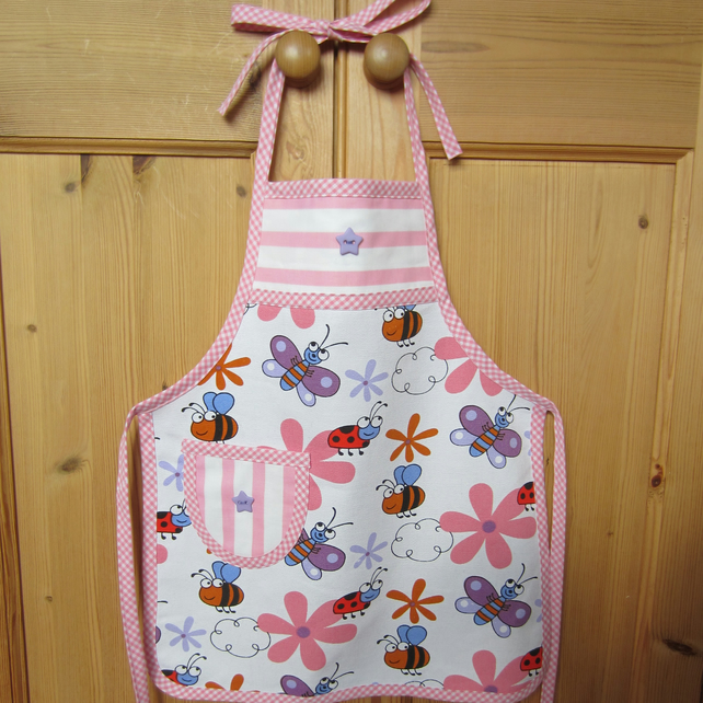 Child's Butterfly Apron
