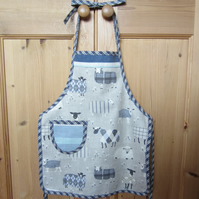 Child's Sheep Apron