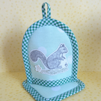 Easter Squirrel Egg Cosy