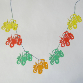 Tractor Bunting