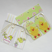 SALE 4 Easter Chick Gift Tags
