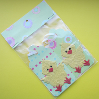 2 Easter Chick Gift Labels