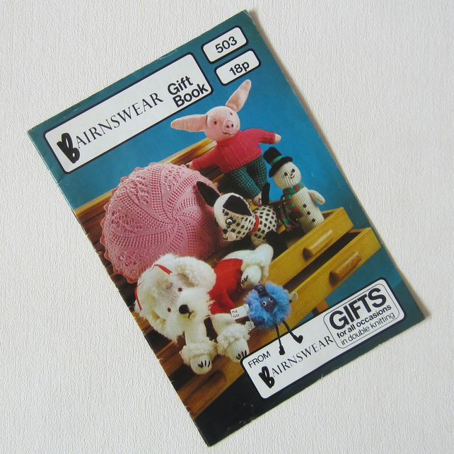 Vintage Double Knitting Gift Book