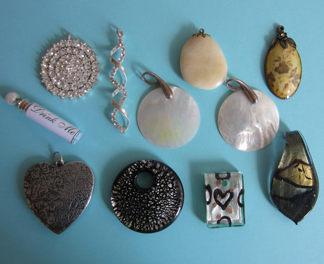 SALE Lot of 11 Assorted Pendants