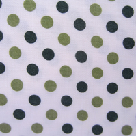 SALE 5 Metres of Unused Vintage Vyella Spotty Fabric