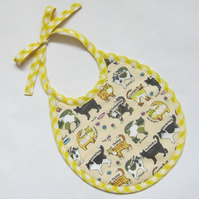 First Size Cats Babies Bib