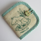 Embroidered Frog Needle Case