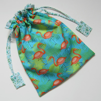 Flamingo Toiletries Wash Bag