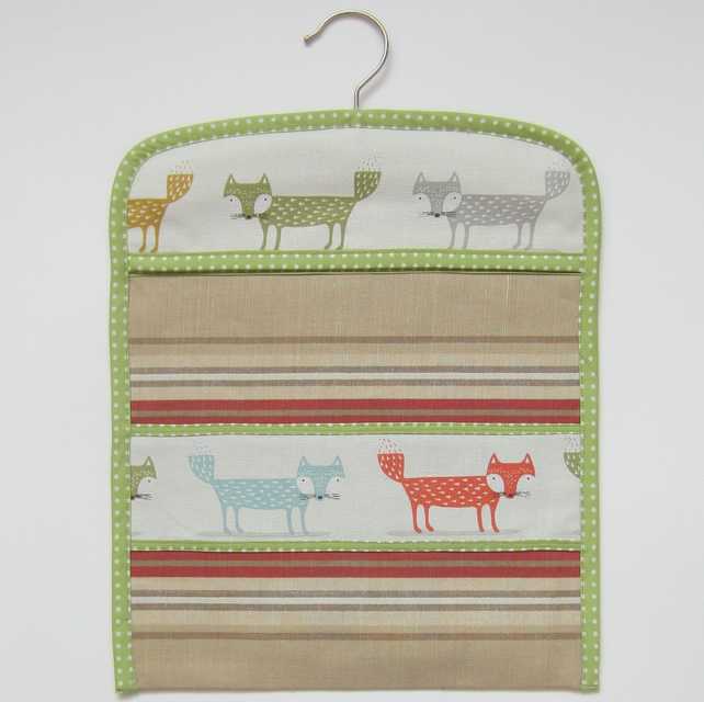 Fox Peg Bag