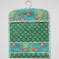 Vintage Flamingo Peg Bag